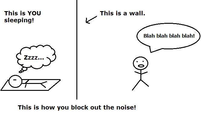 howtoblockoutnoise